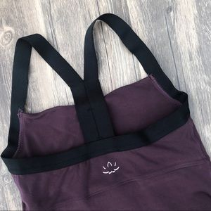 Beyond yoga purple tank top